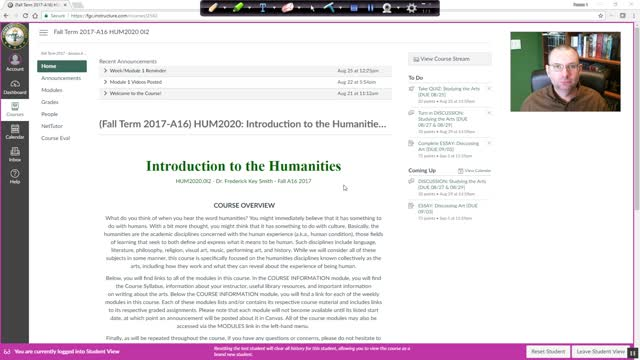 HUM2020: Module 02 Overview (Fall 2017, A16)