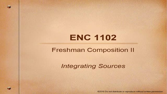 1102 Integrating Sources