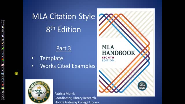 FGC-MLA 8th Edition Part III